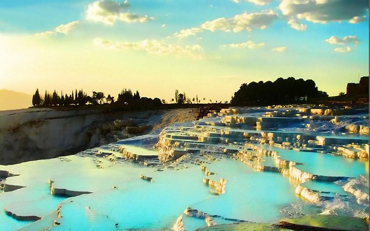 Pictures Of Pamukkale, Turkey