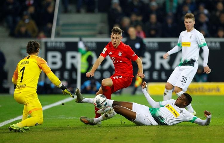تقرير مباراة بايرن ميونخ أمام بوروسيا مونشنغلادباخ