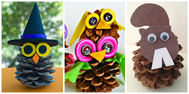 pine-cone-crafts-for-kids-crayon-box-chronicles 30 Simply Magical DIY Pinecones Ideas Interior