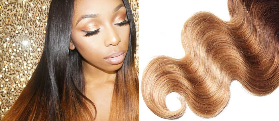 caramel hair extensions sleek and smooth virgin hair weave