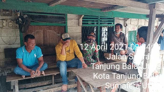 Komunikasi Sosial Dilaksanakan Personel Jajaran Kodim 0208/Asahan Diwilayah Binaan