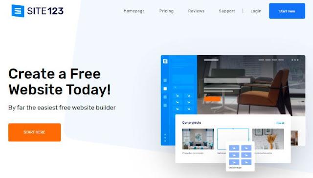 site 123 top website builder program