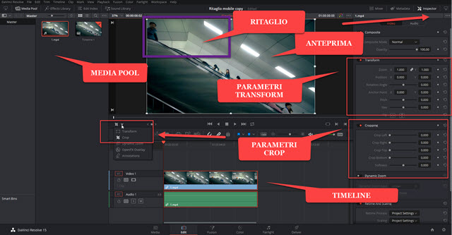 davinci-resolve-interfaccia