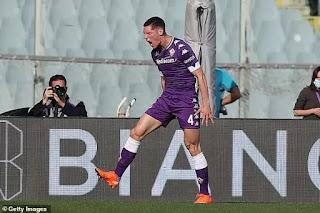 Man Utd target Nikola Milenkovic names Nemanja Vidic as his idol growing up