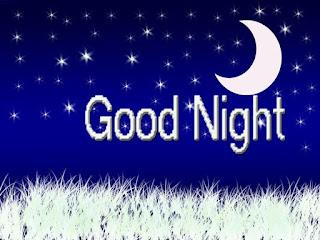 Beautiful wallpaper of Half Moon to Wish Sweet Good Night