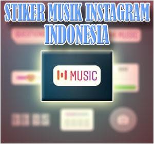 Fitur Stiker Musik Instagram Indonesia