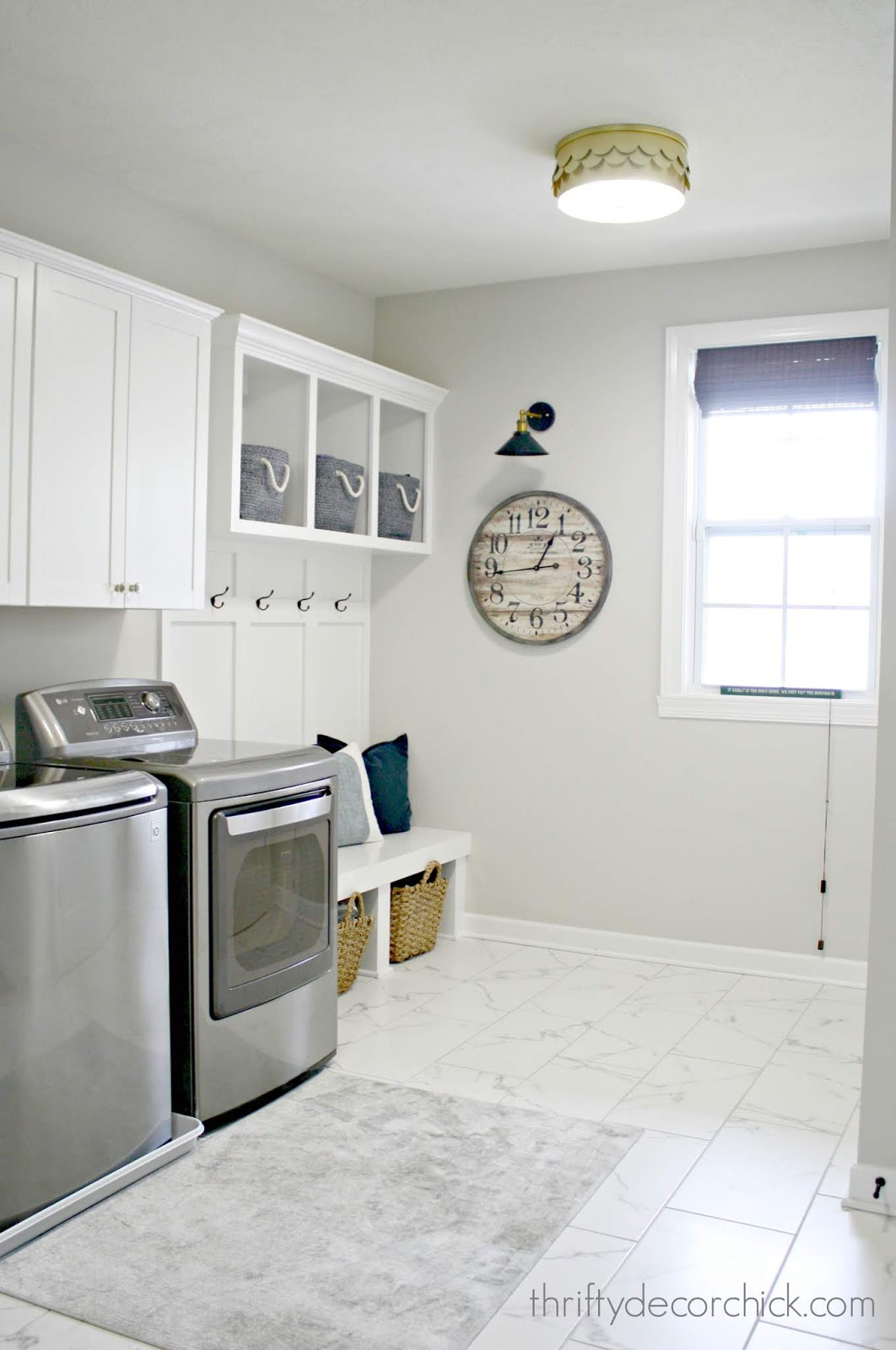 mud and laundry room combo