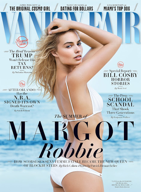 Actress, @ Margot Robbie - Patrick Demarchelier Photoshoot for Vanity Fair August 2016