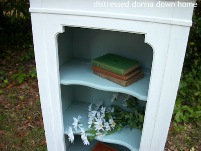 bookshelf makeover, Americana Decor Chalky Finish paint