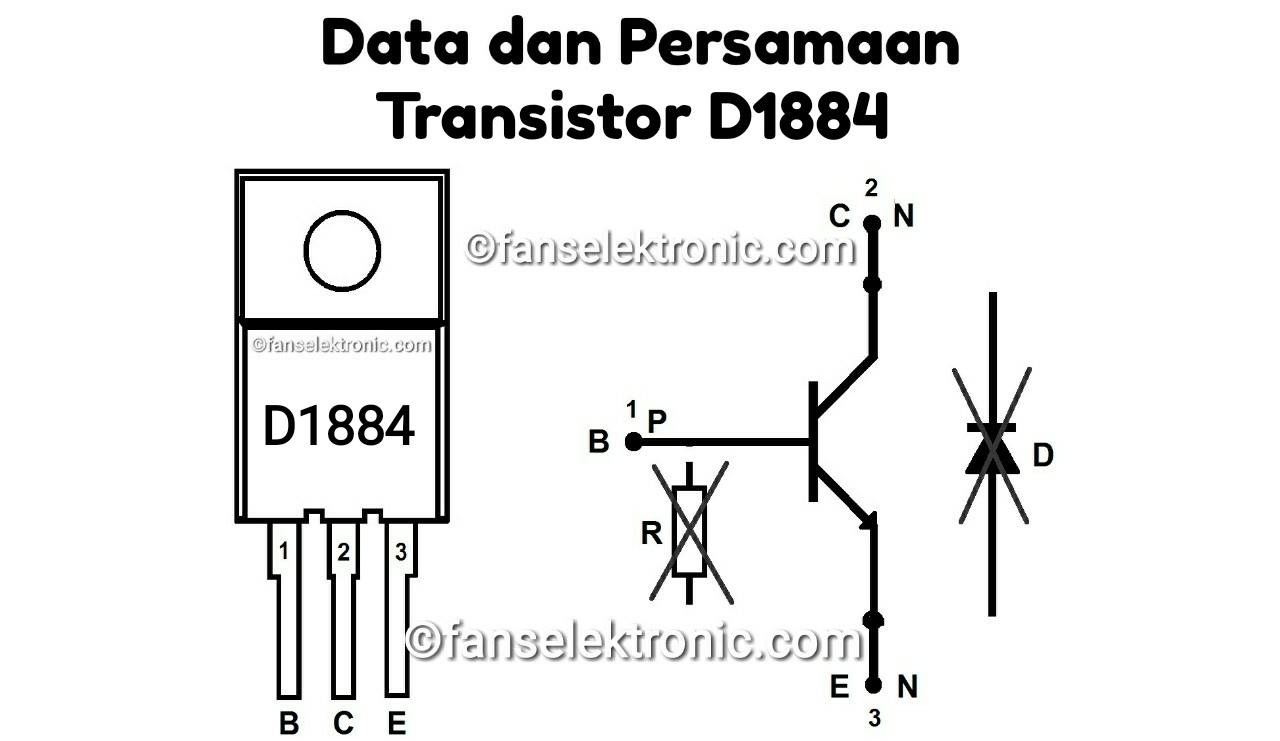 Persamaan Transistor D1884