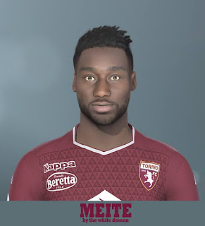 PES 2019 Faces Soualiho Meïté by Jarray & The White Demon