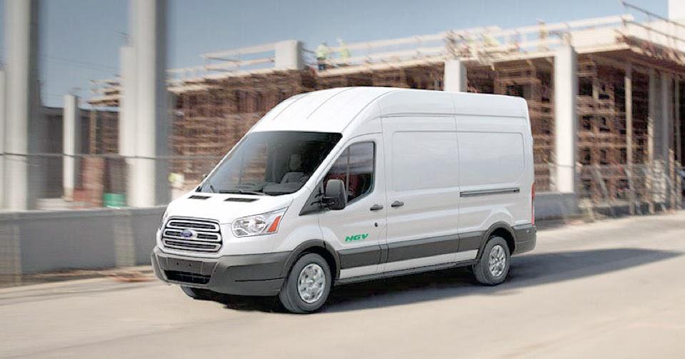 harbor truck bodies blog ford cng transit 150 250 350 3 7l full size van wagon. Black Bedroom Furniture Sets. Home Design Ideas