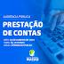PRESIDENTE DA CÂMARA ANUNCIA AUDIÊNCIA PÚBLICA PARA PRESTAÇÃO DE CONTAS DO BIÊNIO