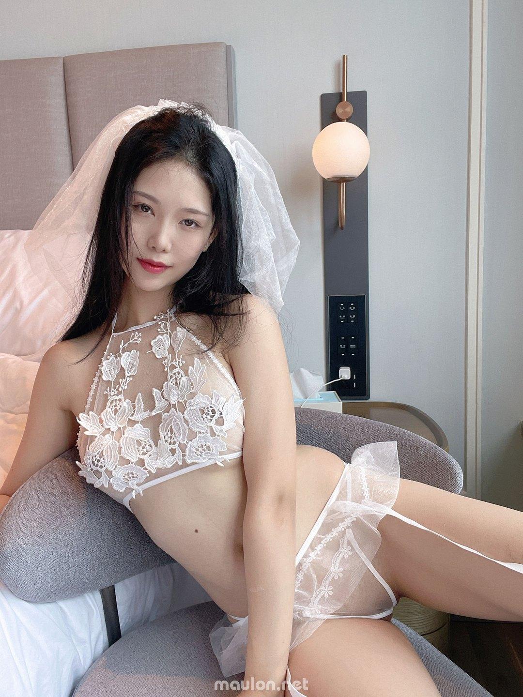 MauLon.Net - Ảnh sex Korea - lúc trên giường em là cô dâu