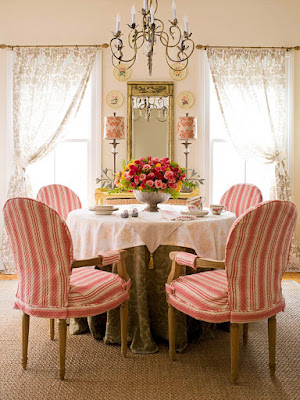 Desain Ruang Makan bertema Vintage