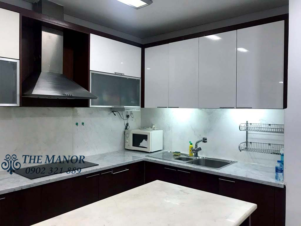 cho thuê căn hộ với 3 phòng ngủ khu The Manor 1 block AW 1400$/tháng - pic 4