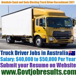 Armidale Sand and Soda Blasting Truck Driver Recruitment 2021-22