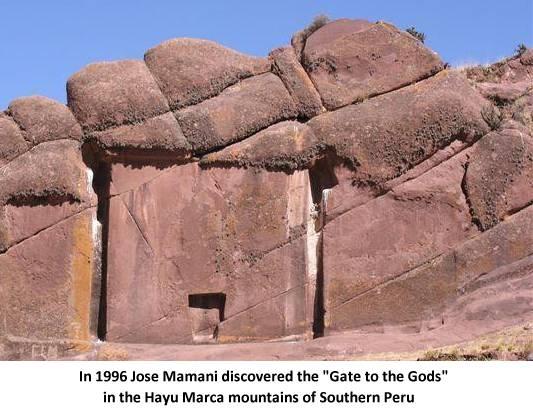 profecía la puerta  Hayu Marca es una entrada a las tierras de los dioses
