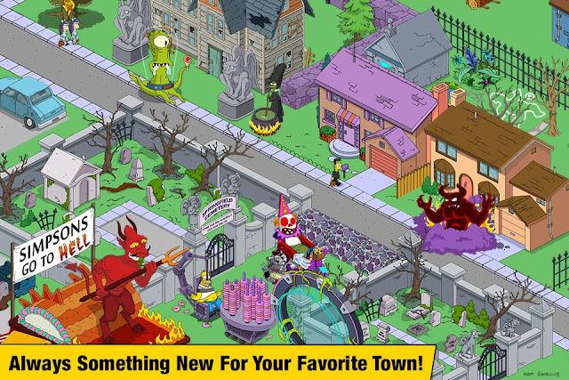 The Simpsons Tapped Out v 4.42.0 MOD APK (MEGA MOD)