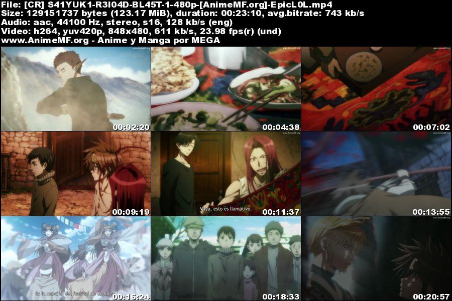 Vista previa de Saiyuuki Reload Blast 01 Ligero Sub Español MEGA