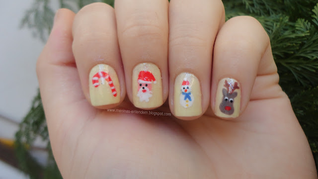 Nailart / Unhas decoradas de natal