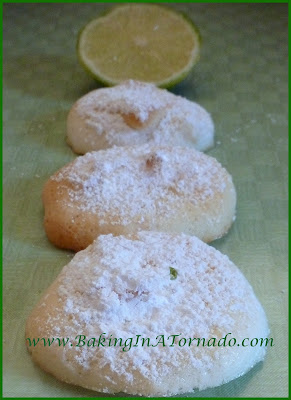 Key Lime Meringues | www.BakingInATornado.com | #recipe #cookies