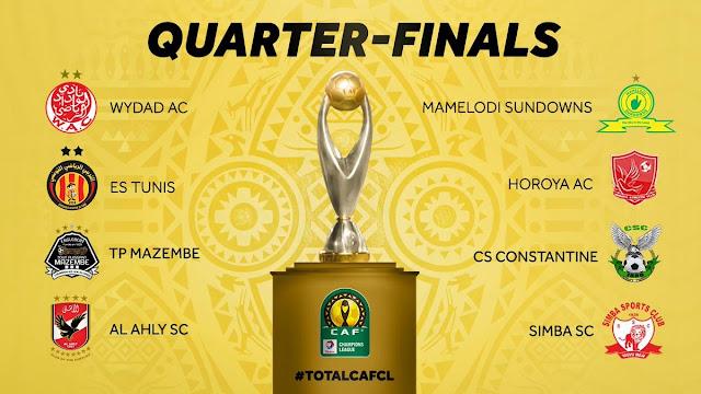نتائج قرعة دوري أبطال أفريقيا والكونفدرالية الأفريقية 🏆