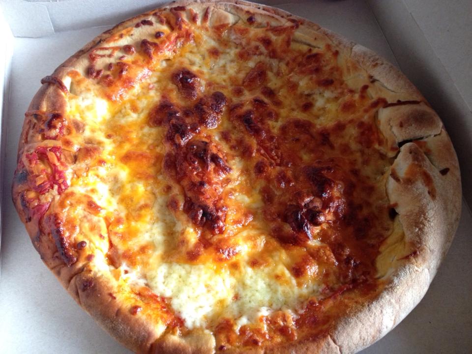 Stuffed Crust Cheese Feast Pizza Asda