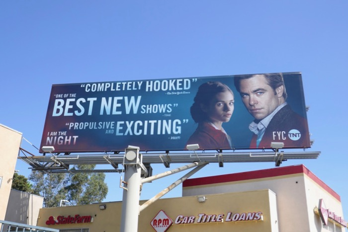 I Am the Night Emmy consideration billboard