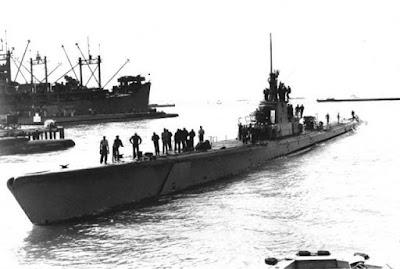 "El submarino que ""hundió"" un tren"