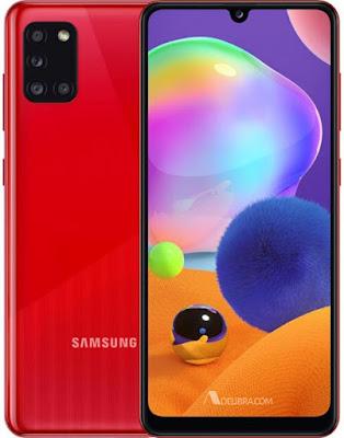 Screenshot Galaxy A31