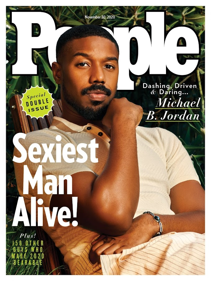 'Black Panther' star, Michael B. Jordan is People's 'Sexiest Man Alive' for 2020