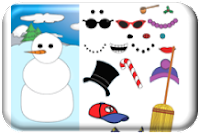http://www.northpole.com/clubhouse/games/Snowman/