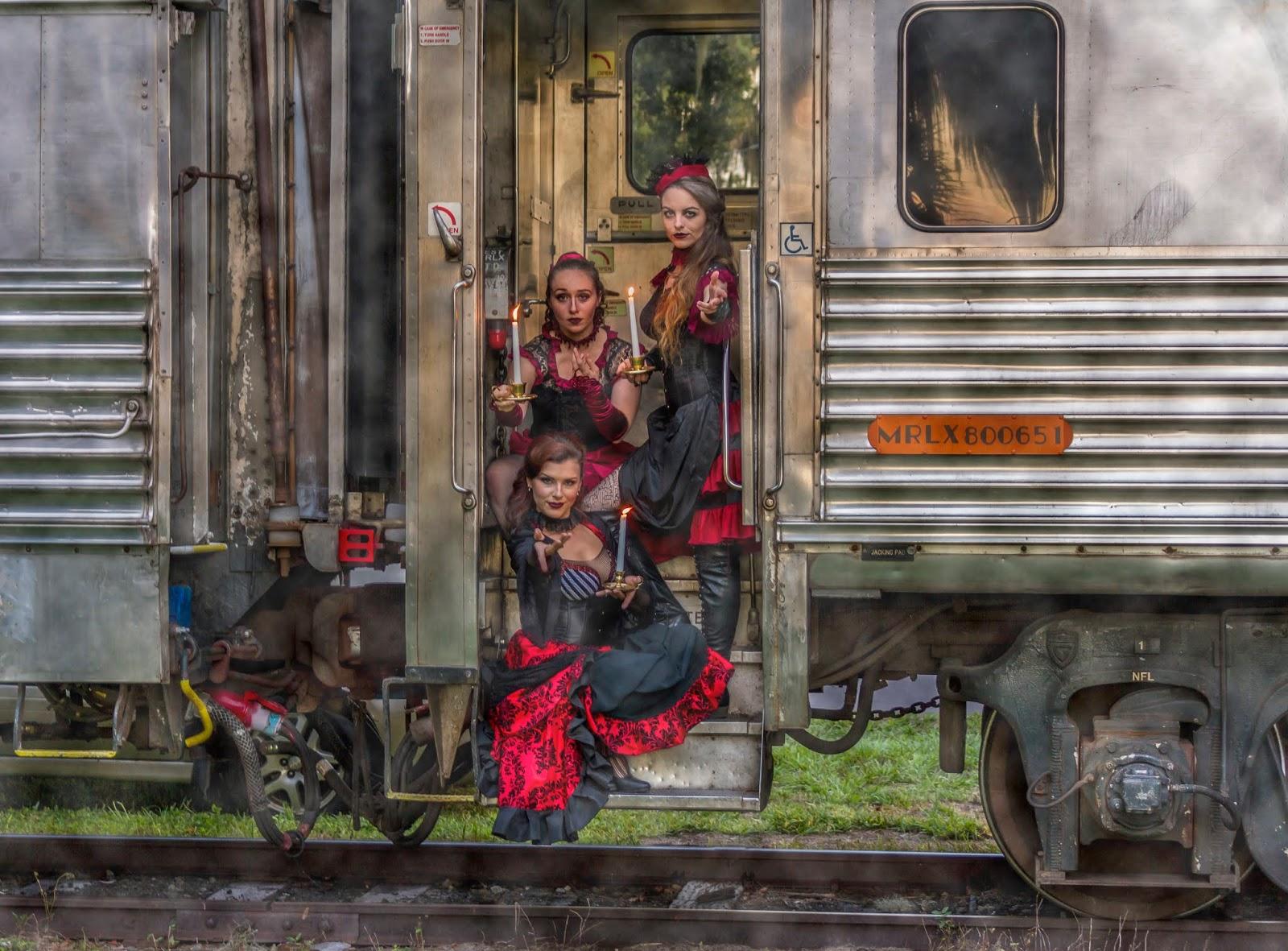 The Royal Palm Railway Experience And Phantasmagoria Present The