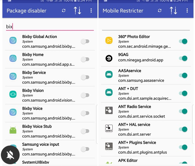 Adhell 3 for Samsung Galaxy devices block Ads, Package