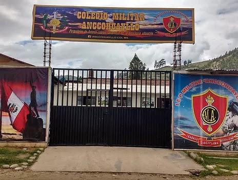 Colegio MILITAR ANCCOHUAYLLO - Andahuaylas