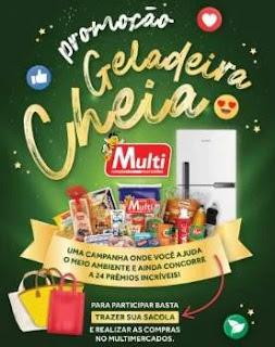 Promoção Multimercados Geladeira Cheia Concorra 24 Geladeiras Cheias de Produtos