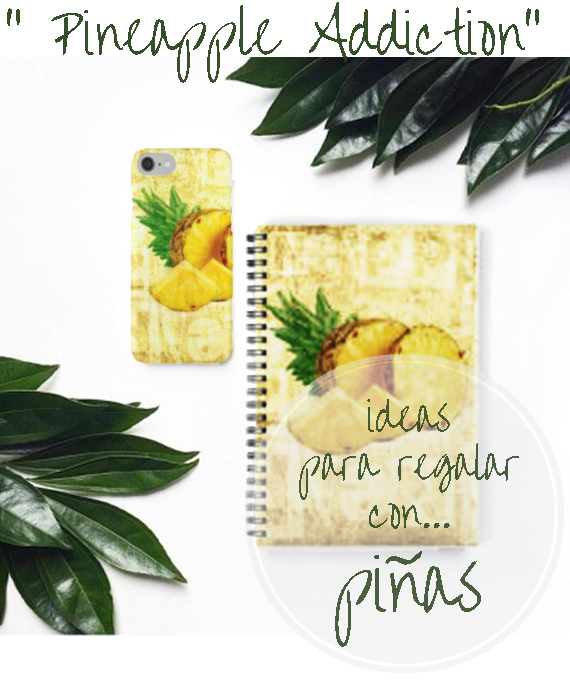 Pineapples gift ideas: ideas para regalar con... piñas