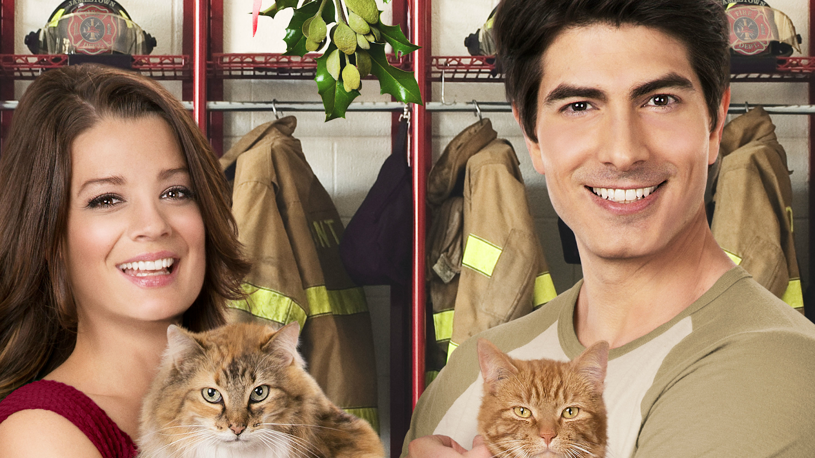 The Nine Lives of Christmas Zachary Stone Brandon Routh Marilee White Kimberley Sustad Hallmark