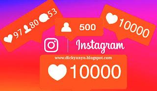 Cara terbaru menambah ribuan followers instagram 2017