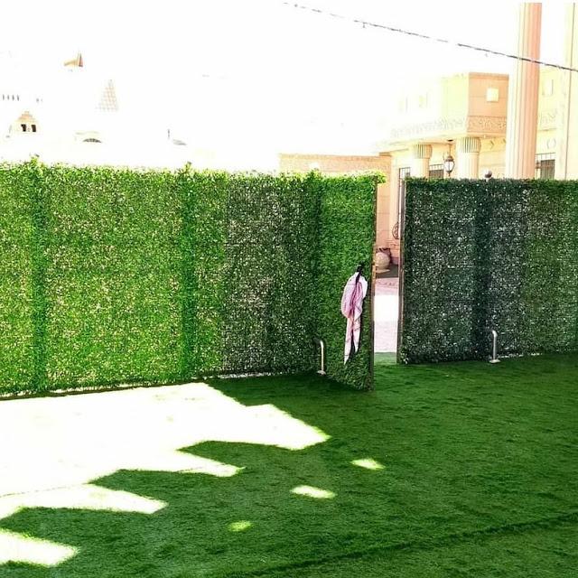 تزيين ممرات الحدائق المنزلية في جدة