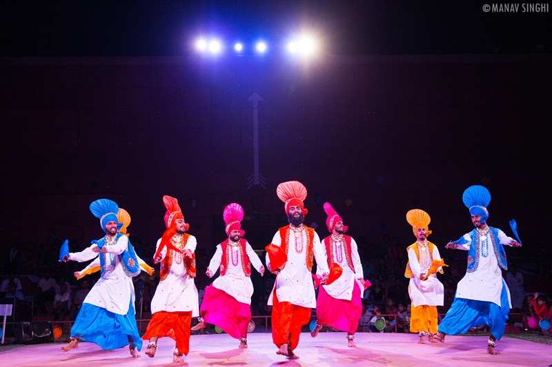 Bhangra Folk Dance From Punjab