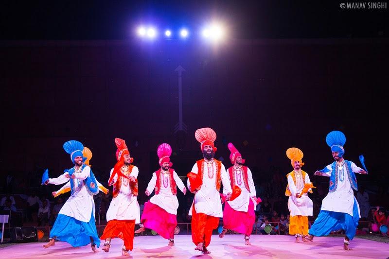 Bhangra Folk Dance From Punjab