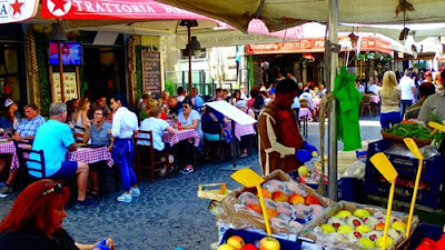 Good Italian Restaurants Campo de Fiori Rome