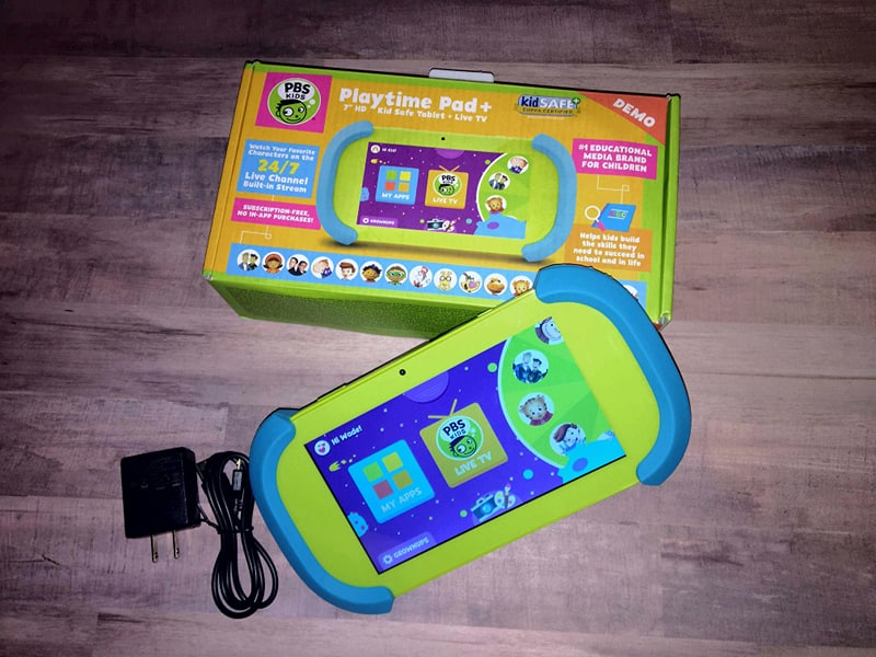 "PBS KIDS Playtime Pad+ 7"" HD Kid-Safe Tablet + Live TV"