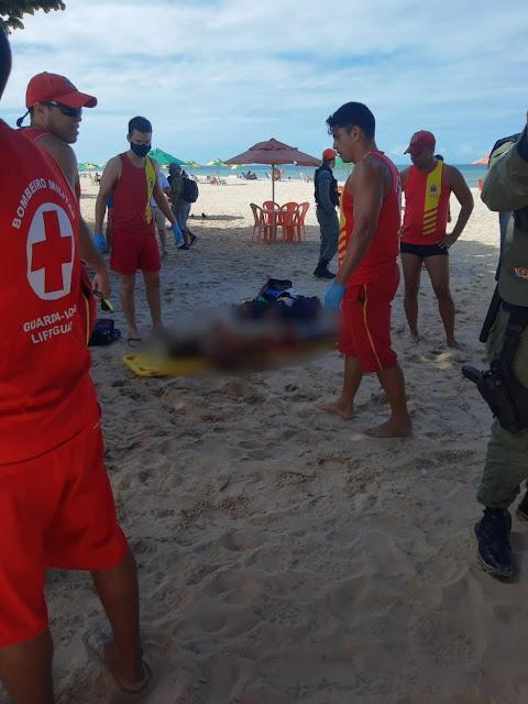 Homem morre após ser atacado por tubarão na praia de Piedade, em Jaboatão dos Guararapes