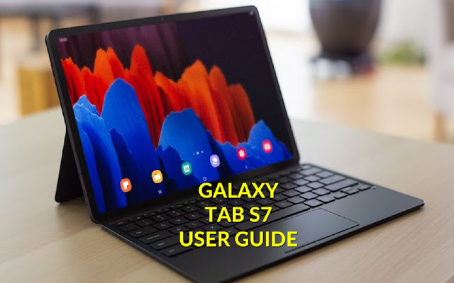 Samsung Galaxy Tab s7 user manual