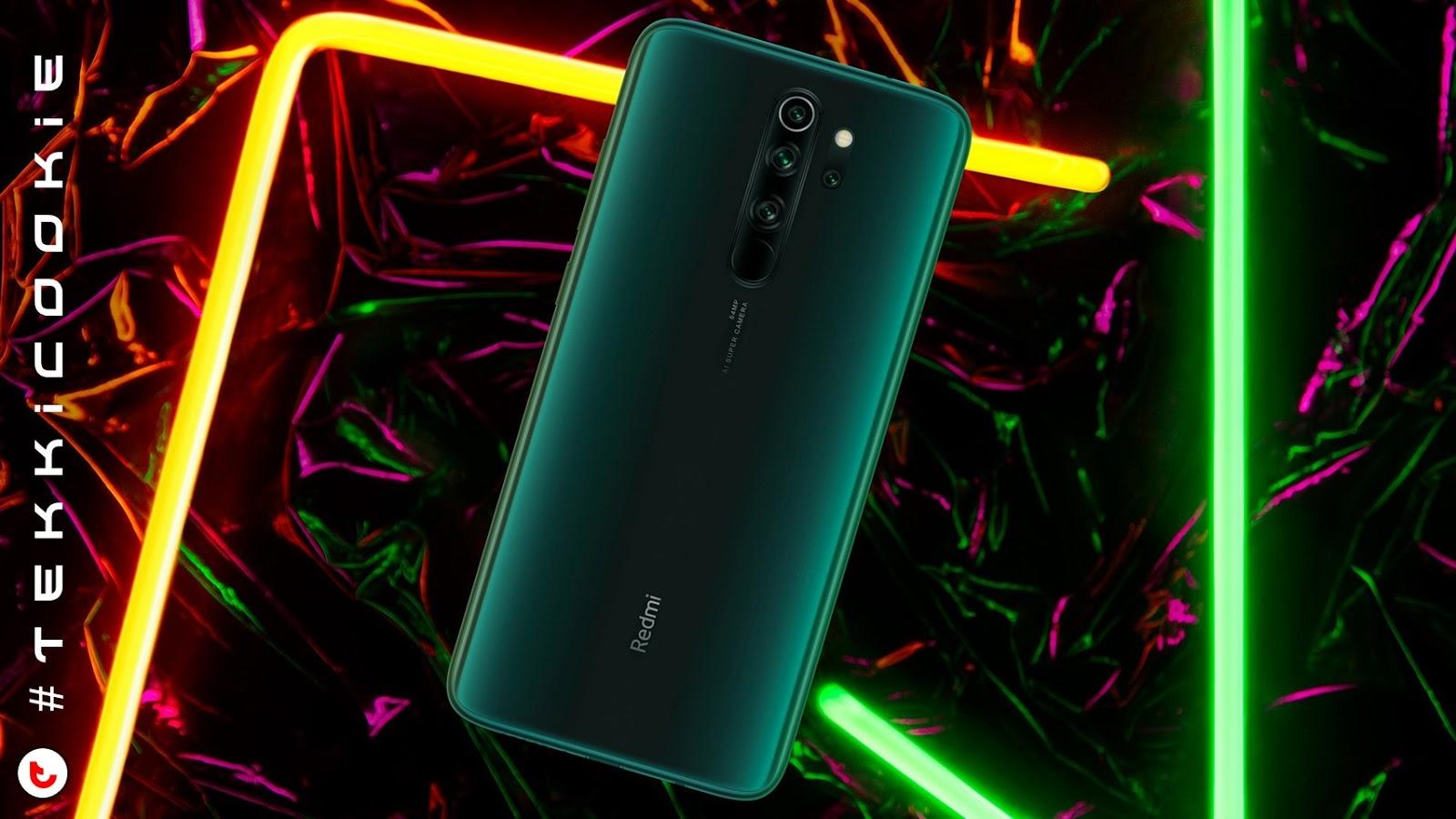 Redmi Note 8 Pro in Gamma Green