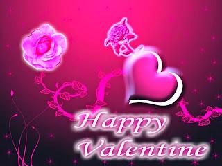 Kartu Ucapan Happy Valentine 2018