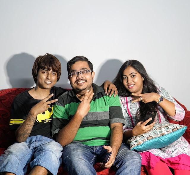 Sourajit Saha With Sayan Ray And Sudipta Roy 2
